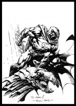 "Les références : ""Moon Knight on gargoyle""par David Finch"
