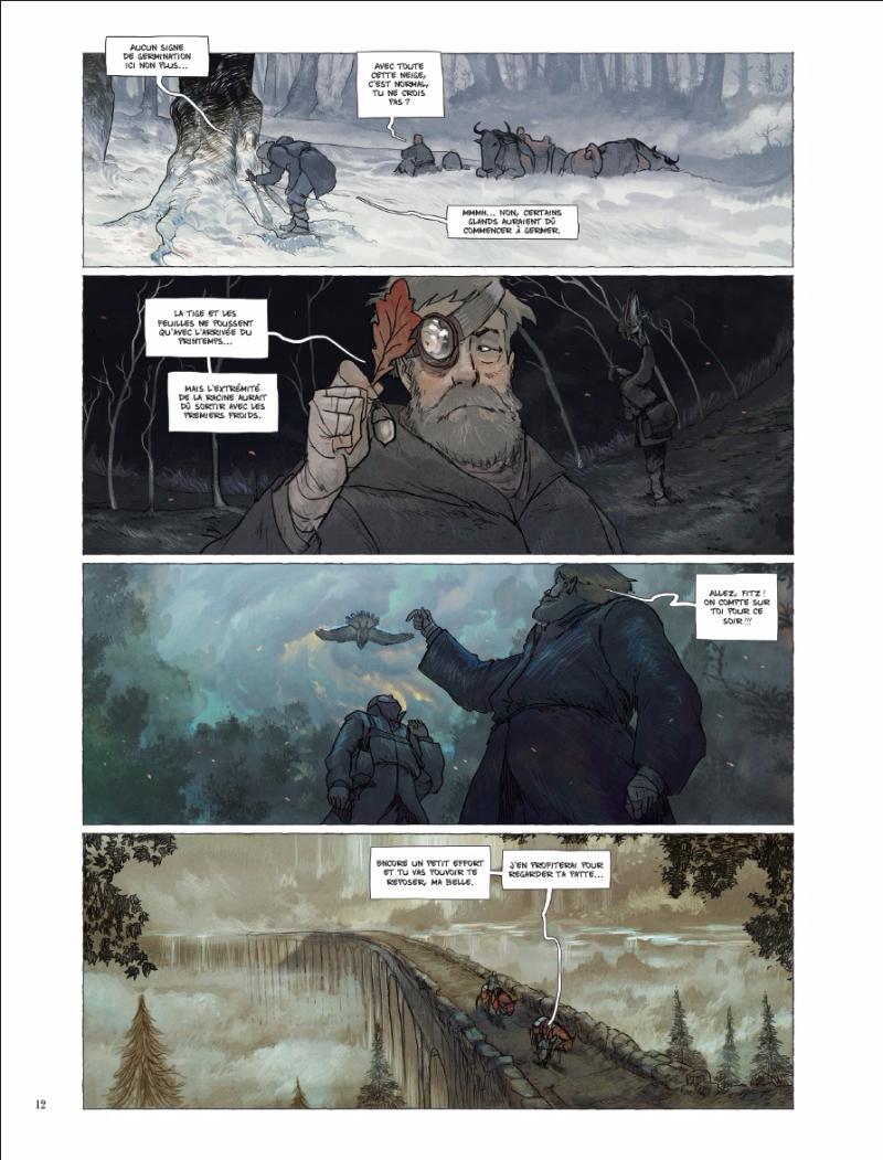 Un récit d'apprentissage (page 12 ; Soleil 2016)