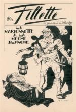 Original de Calve pour une couverture de Fillette.