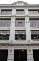 """Le «  Happy Building"""" : les nouveaux locaux des éditions Delcourt."""