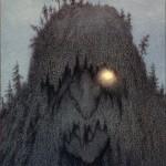 Skogtroll par Theodor kittelsen
