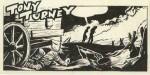 Quelques uns des projets de bandes dessinées inachevées proposés par Forest lors de ces tournées des éditeurs et reproduites dans  L'Art de Jean-Claude Forest » aux éditions de l'An 2, en 2004.