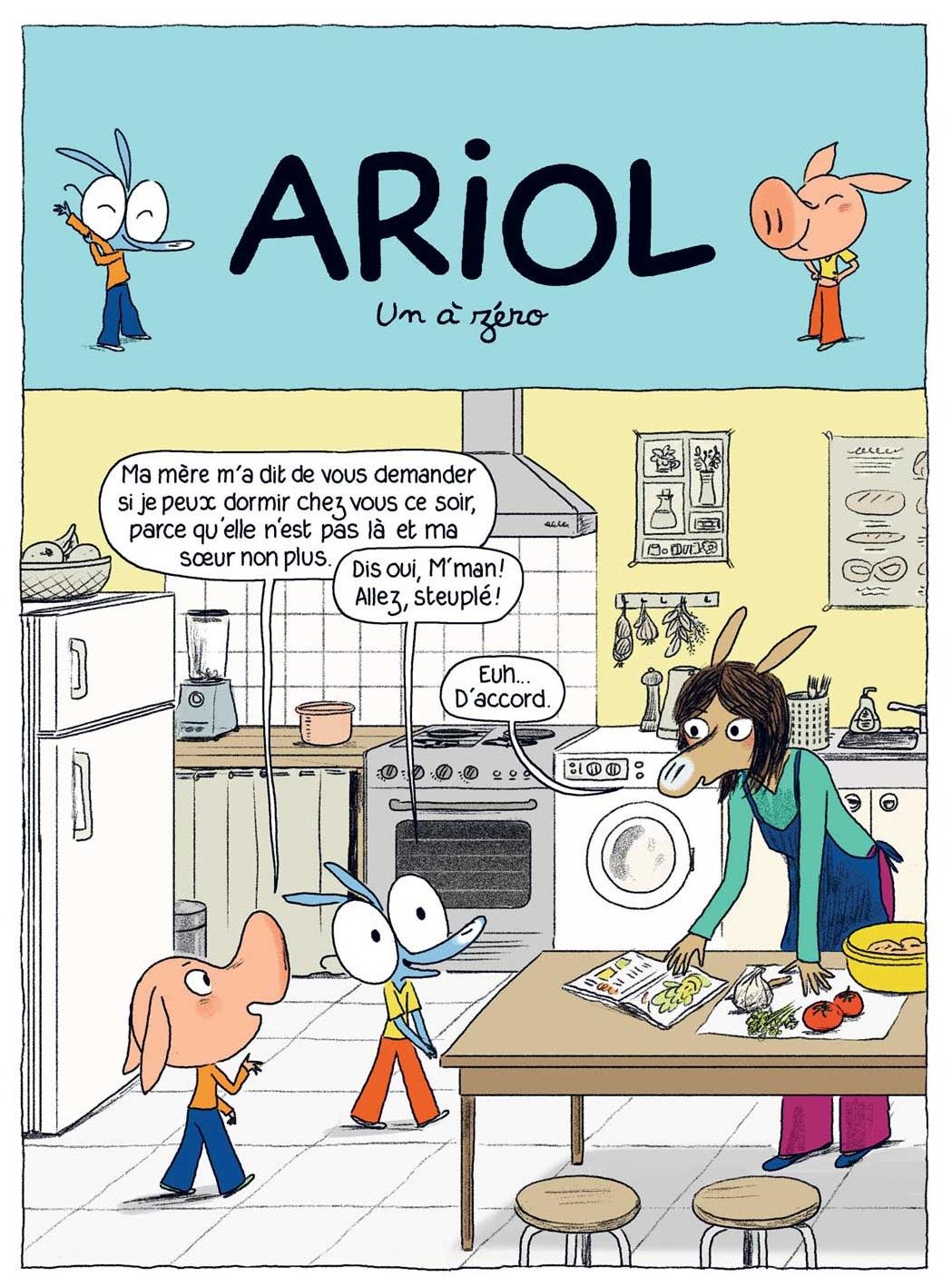 bande dessinee ariol