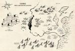 Carte du monde de Braven Oc