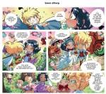 Les légendaires parodia haut de la page 10