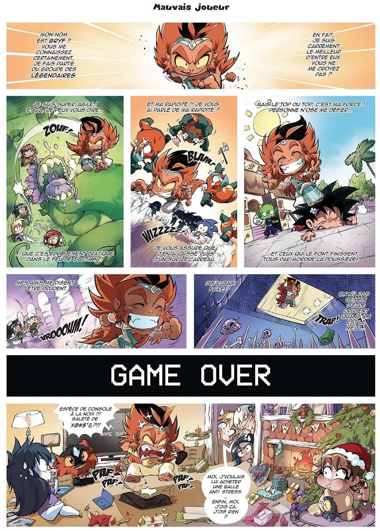 Les légendaires parodia page 29