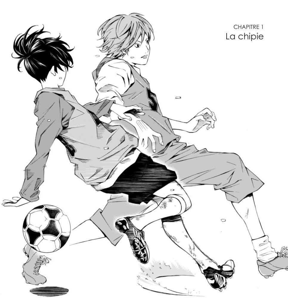 dessin manga foot