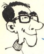 Autoportrait d'Azara à l'époque de Tintin.
