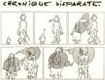Une page d'André-François Barbe dans B.D..