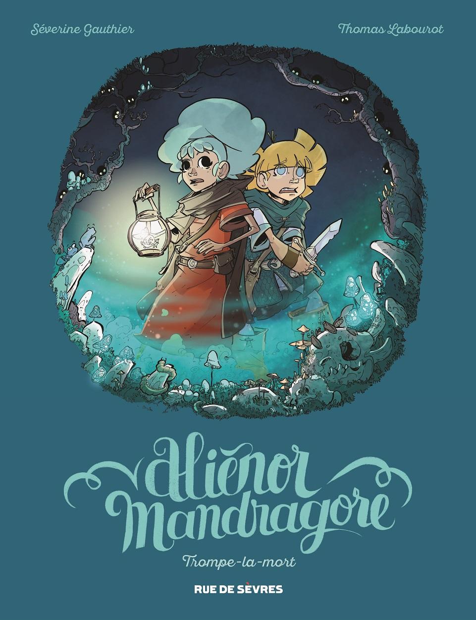 couverture aliénor Mandragore T2