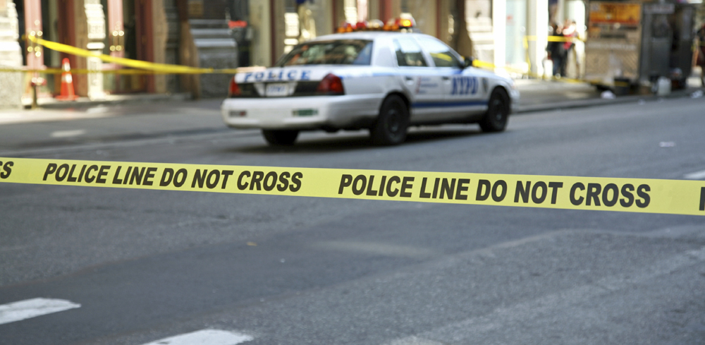 Scéne de crime à Baltimore
