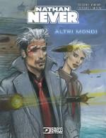 Une couverture d'Enki Bilal pour le n° 300 de Nathan Never.