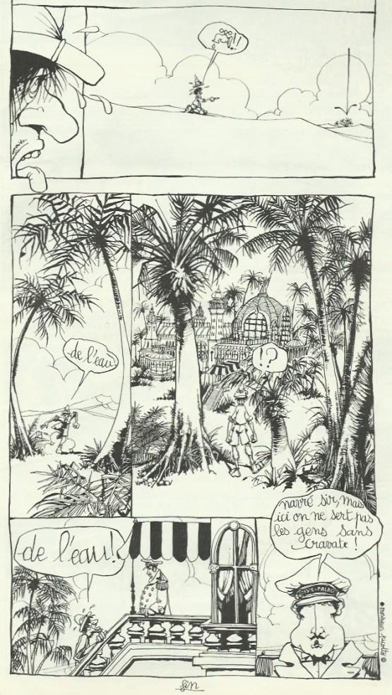 « Le Désert » par Monsieur Picotto.