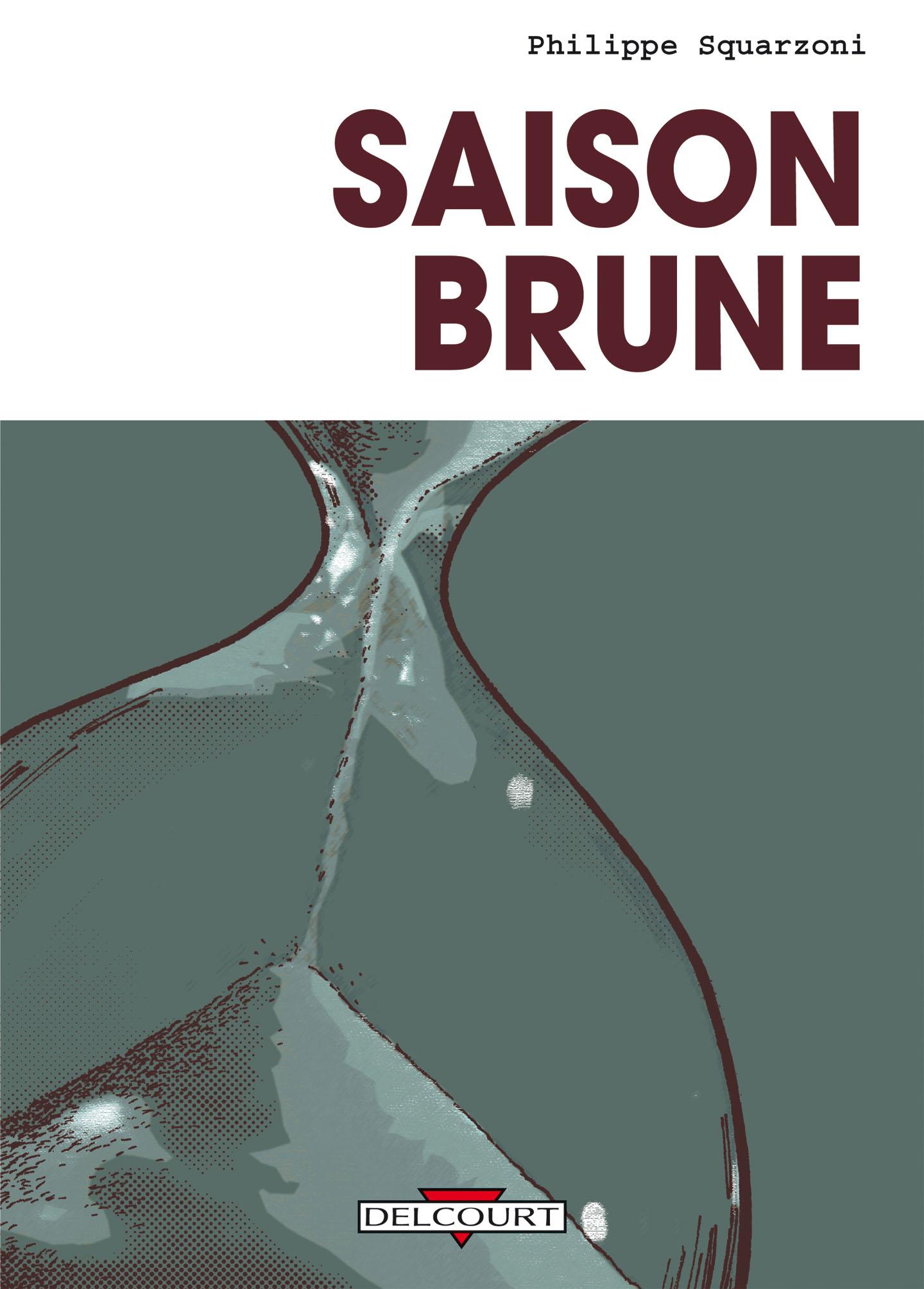 Couverture pour Saison brune (Delcourt 2012)
