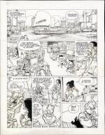 « La Lumière de Bornéo » par Frank Pé et Zidrou : extrait (planche 5) de l'album à paraître
