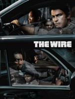 "Affiche promotionnelle pour la série TV ""The Wire"""