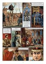 Des dates et des rois qui ont fait la France : 1ère planche (Delcourt 2016)