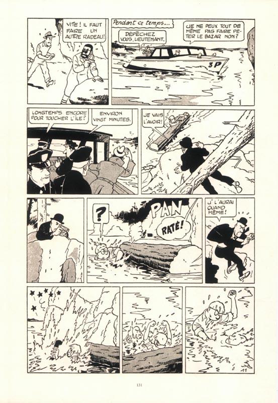 Une page joliment restaurée de « Félix » par Maurice Tilleux, aux éditions de l'Élan.
