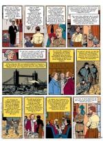 "Planche 22 du ""Testament de William S."" (éd. Blake et Mortimer, Sente/Juillard 2016)"