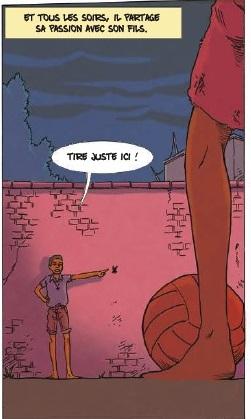 Pelé et son père  bas de la Page 11