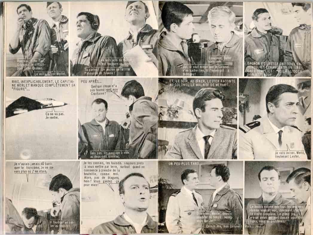 « Les Chevaliers du ciel » dans Télé-Poche.