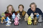 Nine Culliford entourée de ses enfants qui dirigent la société IMPS.