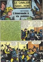 « Le Cavalier sans nom » dans Blek.