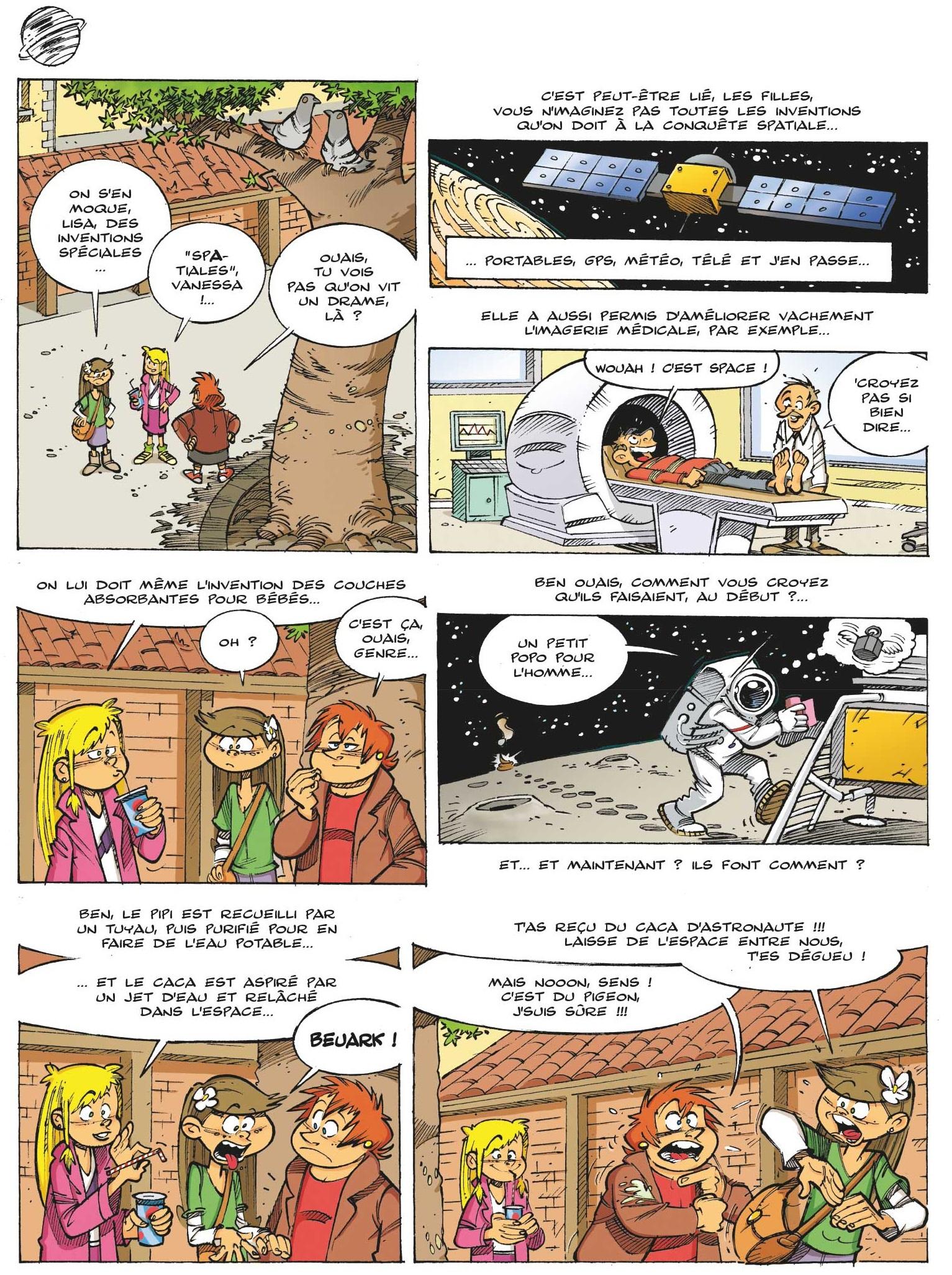 Les Astromômes page 14
