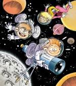 Les Astromomes dans l'espace