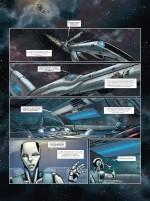 La science-fiction a un visage... (Androïdes tome 2 - planche 1 - Soleil 2016)