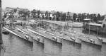 Les six sous-marins de la classe C, avant le début de la Guerre d'Espagne.
