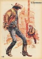 Hermann illustre Dylan Stark dans Tintin n°51 (23 Décembre 1969)