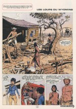 """Les Loups du Wyoming"", dans Tintin n°28 (11 juillet 1972)"