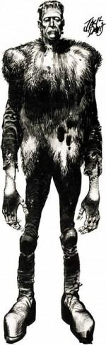 Le poster du monstre de Frankenstein (1962) résume à lui tout seul le talent protéiforme de Jack Davis, maître du pinceau et de l'aquarelle, aussi à l'aise dans l'horreur que dans la caricature.