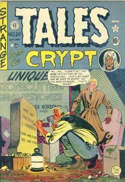 Tales from the Crypt n° 20 (octobre-novembre 1950).