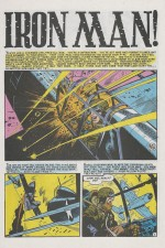 Page 1 d'« Iron Man » paru dans Aces High n° 5.