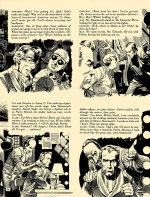 « Screenplay for a Murder » : un picto-roman de Al Feldstein & Jack Davis, page 2, paru dans Crime Illustrated n° 2.