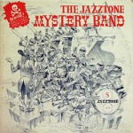 Pochette de « The Jazztone Mystery Band » de Harry Harold and His Orchestra (Jazztone).