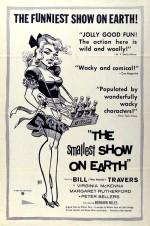 L'affiche de « The Smallest Show on Earth » de Basil Dearden.