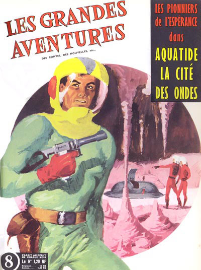 Couverture d'Antonio Parras pour la collection Les Grandes Aventures.