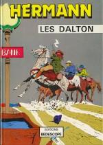 Les Dalton par Hermann et Step en 1967 (éd. Bedescope 1980)