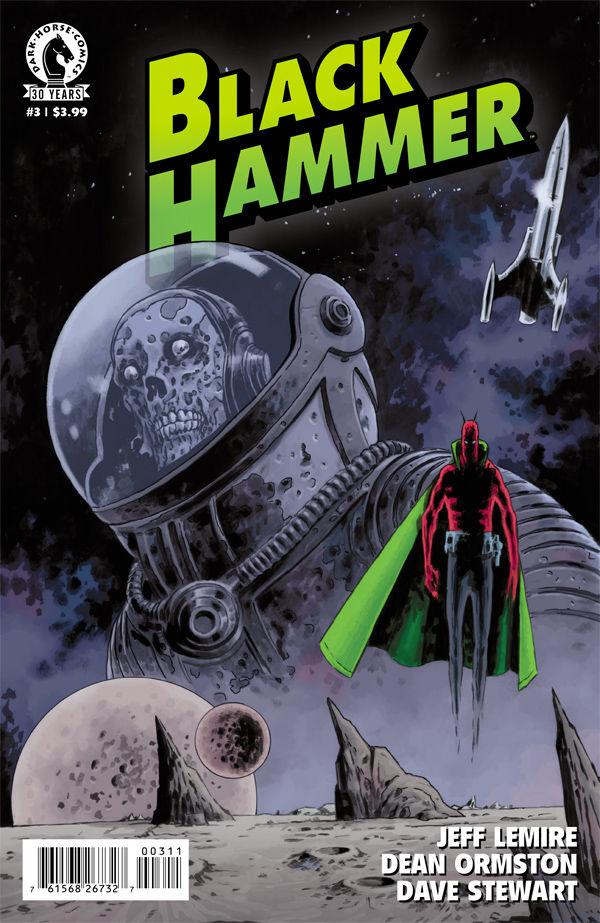 Prévision de couverture pour Black Hammer #3.