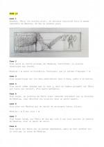 Les différentes étapes de réalisation pour la planche 19, du scénario à la mise en couleurs.