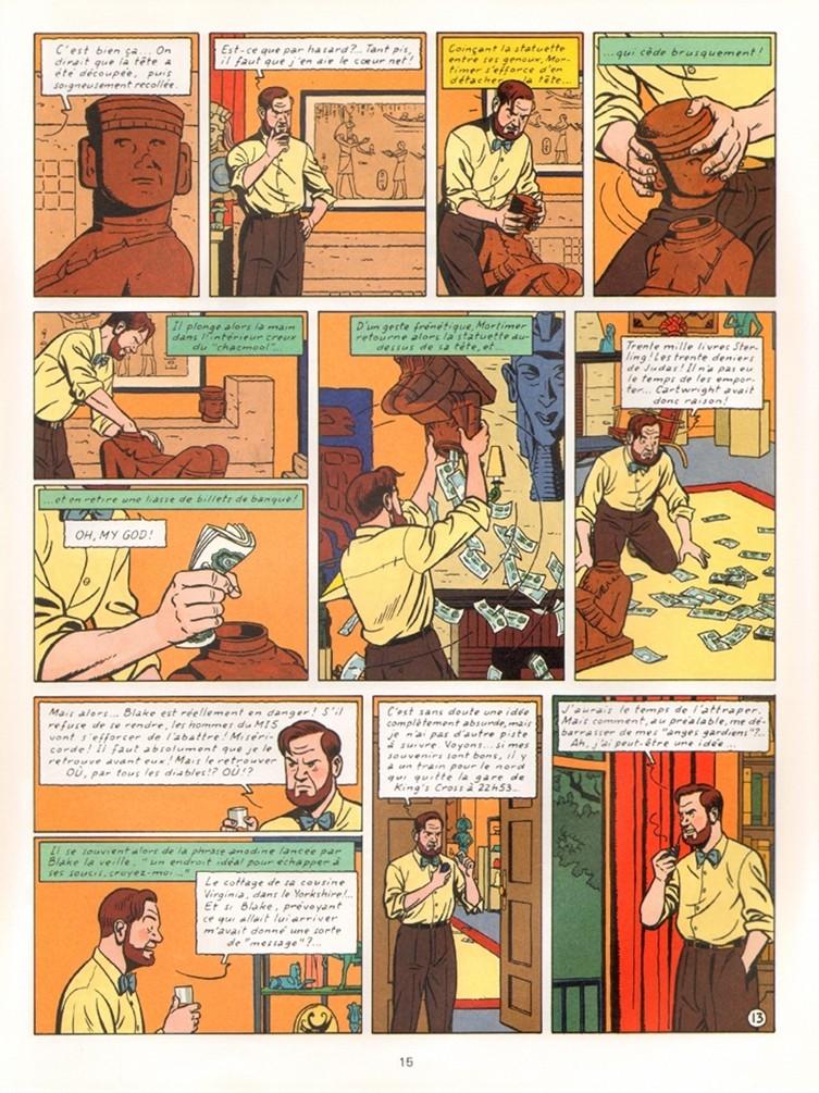 « Blake et Mortimer » vu par Ted Benoît.