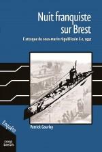 """Couverture pour """"Nuit franquiste sur Brest"""" (P. Gourlay - Coop Breizh 2013)"""