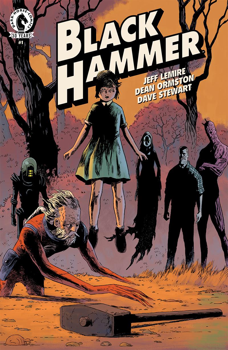 La couverture du n° 1 par Dean Ormston.