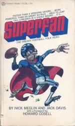Couverture d'une édition regroupant les strips de « Superfan ».