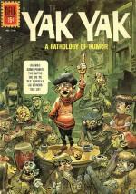 Couverture du n° 1 de Yak Yak pour les Four-Color Comics.
