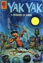 Couverture du n° 2 de Yak Yak pour les Four-Color Comics.