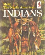 """La couverture de """"Meet The North American Indians"""" d'Elizabeth Payne."""